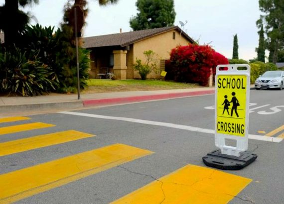 TRAFFIC SAFETY AROUND SCHOOLS